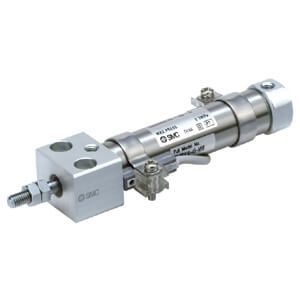 C(D)J2RA-Z, Miniaturzylinder, Direktmontage, doppeltwirkend, Standardkolbenstange