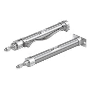 C(D)J2-Z, Air Cylinder, Double Acting, Single Rod, Port Options