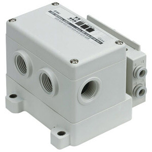 SS5Y7-12S4, 7000 Series Manifold for Series EX126 Integrated (Output) Serial Transmission System (IP67)