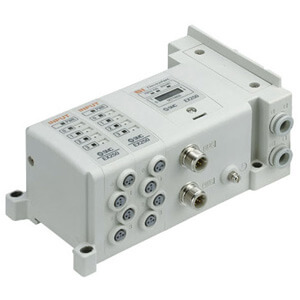 SS5Y7-10/11S, 7000 Series Manifold for Series EX250 Integrated (I/O) Serial Transmission System (IP67)