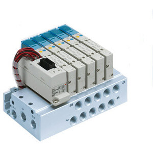 SS5Y7-50/51, 7000 Series Manifold for Series EX510 Gateway Serial Transmission System (IP20)