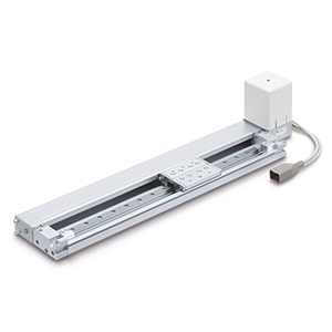 LEMH/HT Electric Actuator, Low Profile Slider Type, Linear Guide, Single/Double Axis Type, Step Motor (Servo/24 VDC)
