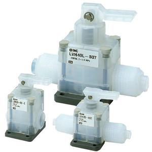 LVH20-A/30-A/40-A, High Purity Chemical Valve, Manually Operated, Threaded, Single Type