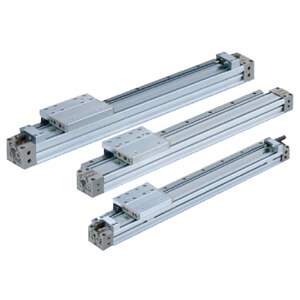 Rodless Cylinder, MY1H-A*Z, Mechanically Jointed w/ Stroke Adjuster - Linear Guide