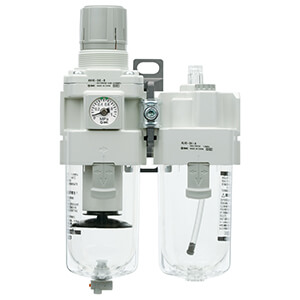 AC20A-B to AC60A-B, Filter Regulator and Lubricator