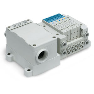 Manifold for Terminal Block Box, Side Ported, SS5Y3-10T