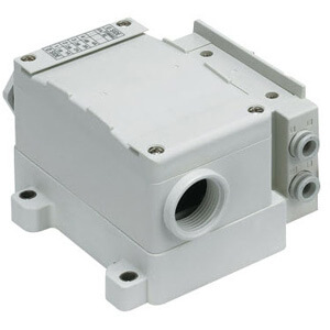 SS5Y3-12T, 3000 Series Manifold, Terminal Block Box (IP67)