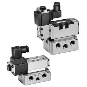 VER2000/4000, 5 Port Electro-Pneumatic Proportional Valve