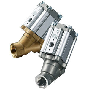 VXB, Air Operated, Angle Seat Valve