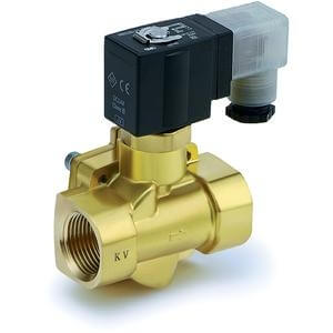 VXED, Energy Saving Type, Pilot Operated, 2 Port Solenoid Valve