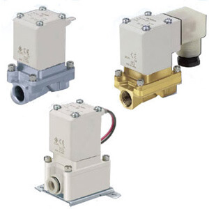 VXZ2*6, Pilot Operated, 2 Port Solenoid Valve for High Temperature Oil, Single Unit