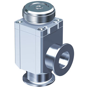 XLH, High Vacuum Manual Angle Valve, Bellows Seal