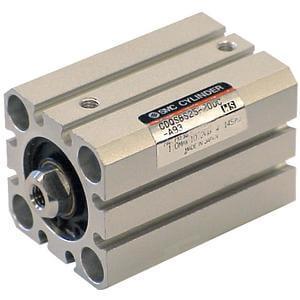 C(D)QS, Kompakt-Zylinder, doppelt wirkend, Standard-Kolbenstange, hohe Querlast