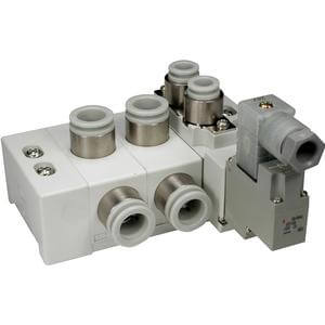SS5Y7-60, 7000 Series Cassette Style Manifold, Body Ported