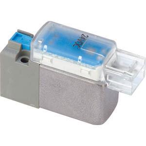 V100, Elektromagnetický přímo ovládaný 3/2 ventil, standardní provedení