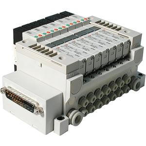 VV5Q11-F,1000 Series, Base Mounted Manifold, Plug-in Type, D-sub Connector