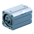 C(D)55-X1439, Compact Cylinder ISO Standard (ISO 21287), Auto Switch Mounting Groove: T-slot Type