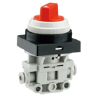 VM100F, 2/3 Port Mechanical Valve w/One-touch Fitting
