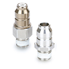 KKA*P-*M, S-Couplers, Stainless Steel, Male Thread