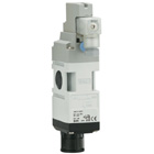 VP517/717, 3 Port Solenoid, Residual Pressure Relief, Modular Connection