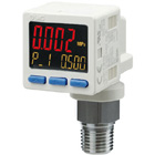 ISE20C(H), Digital Pressure Sensor, 3 Screen 2 Output + Analog, IP65