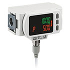 PF3A7*H, Modular Digital Flow Switch with IO-Link