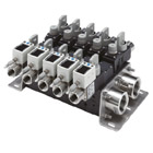 PF3WB, Digital Flow Switch Manifold for Water, IO-Link, Basic Type