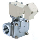 VXD2*0, Pilot Operated, 2 Port Solenoid Valve for Air