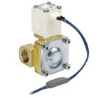 VXD2*6, Pilot Operated, 2 Port Solenoid Valve for High Temperature Oil