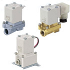 VXZ2*0, Pilot Operated, 2 Port Solenoid Valve for Air, Single Unit